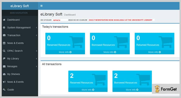 elibrary Soft Library Management PHP Script