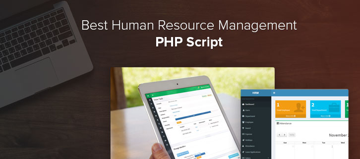 Human Resource Management PHP Script