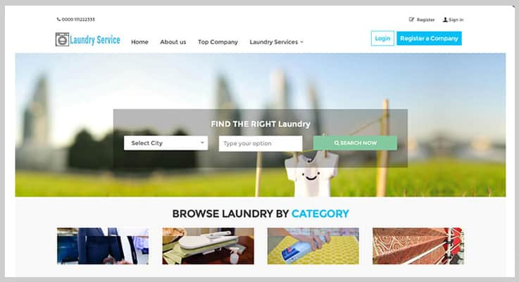 Laundry Booking Laundry Service PHP Script