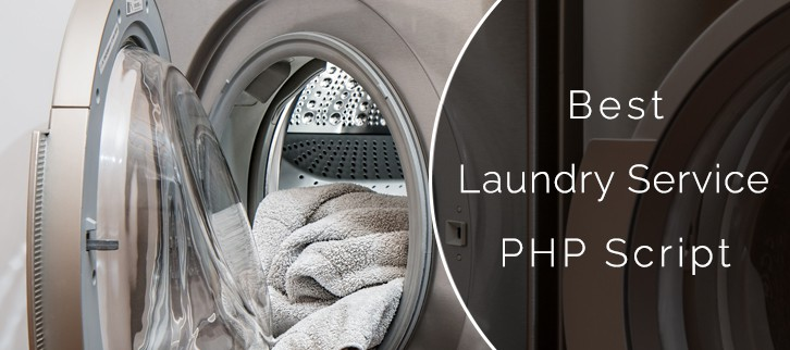 Laundry Service PHP Script