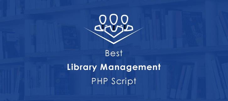 5+ Best Library Management PHP Script 2019