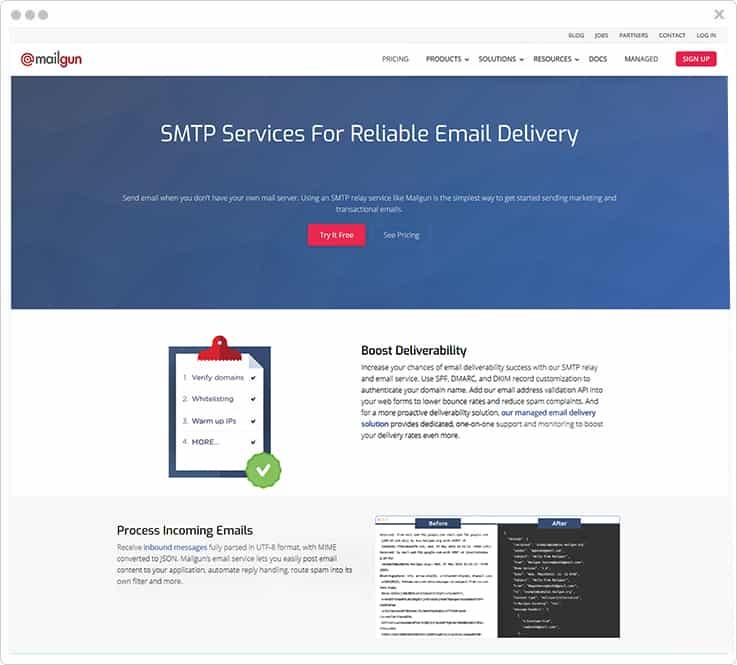 Mailgun Mandrill Alternative