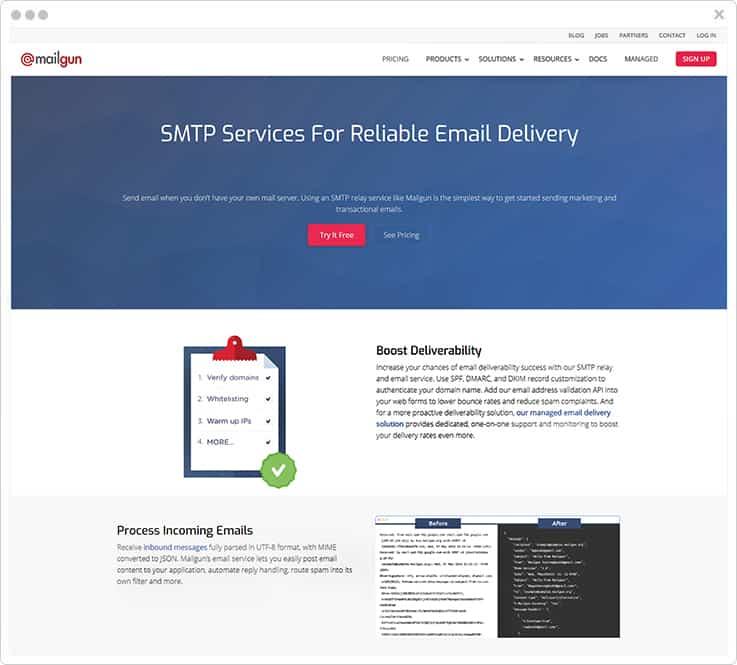 Mailgun SendGrid Alternatives