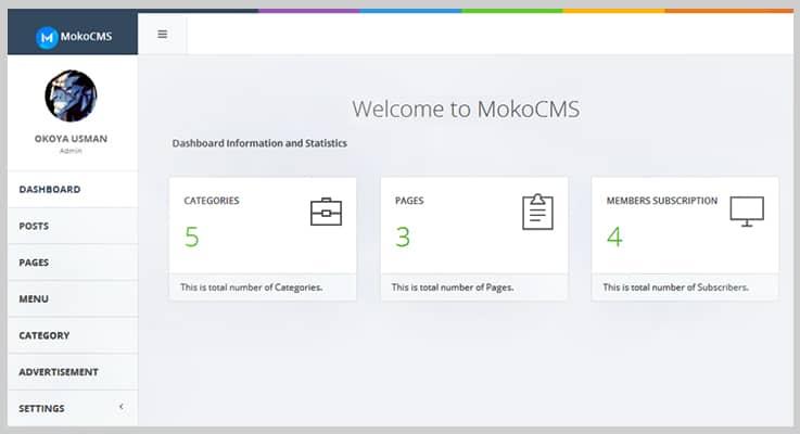 MokoCMS Blog PHP Script