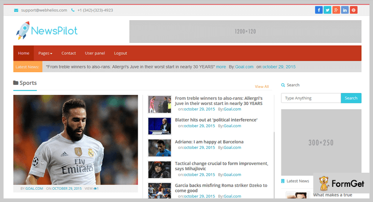NewsPilot RSS Feed PHP Script