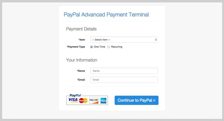 PayPal Payment Gateway PHP Script