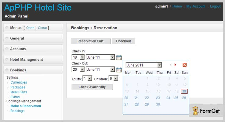 PHP Hotel Reservation System Hotel Booking PHP Script
