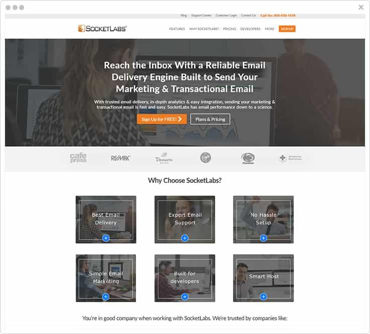 SocketLabs SparkPost Alternatives