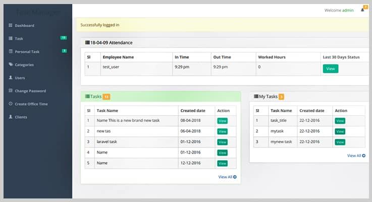 Taski Full Featured Task Management PHP Script