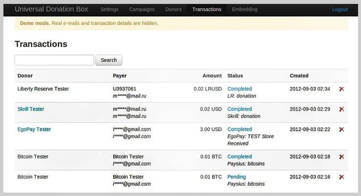 Universal PHP Donation Script