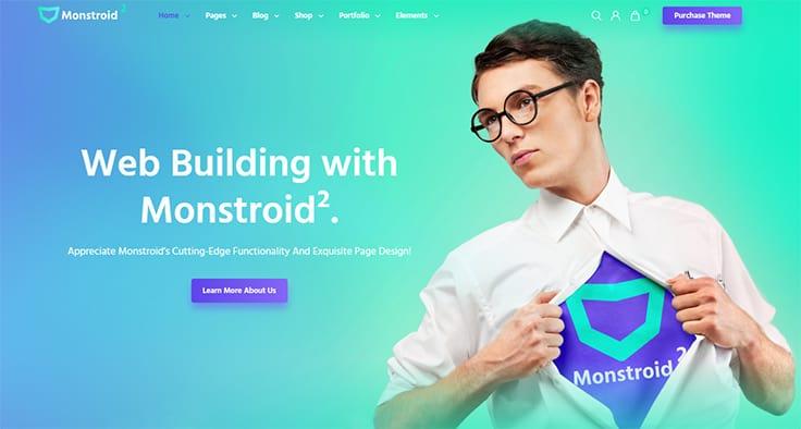 Monstroid2 - Multipurpose Modular Elementor WordPress Theme