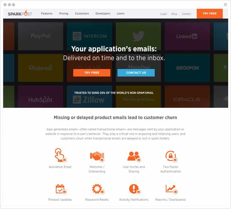 Sparkpost SMTP Service