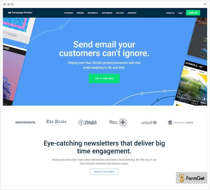 Campaign Monitor FreshMail Alternatives