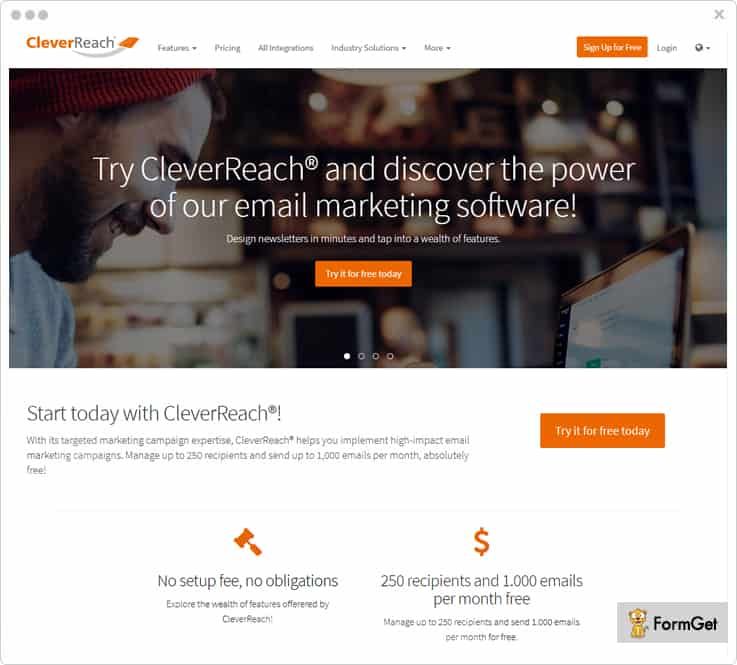 CleverReach - Best dotmailer Alternatives