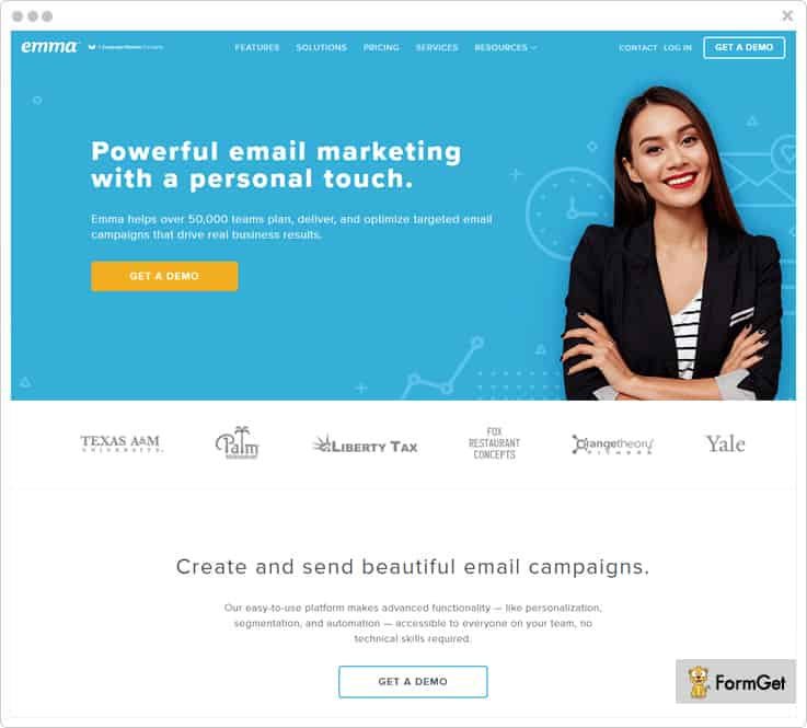 Emma Email Marketing Softawre