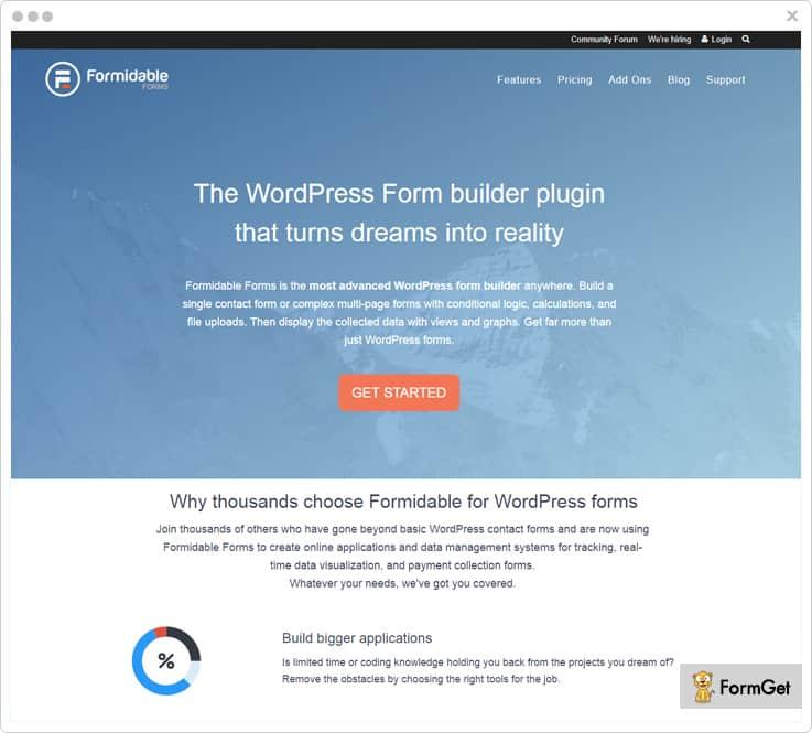 Formidable Forms Google Form Alternatives