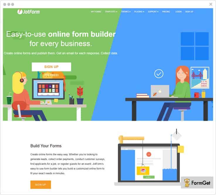 JotForms Google Form Alternatives