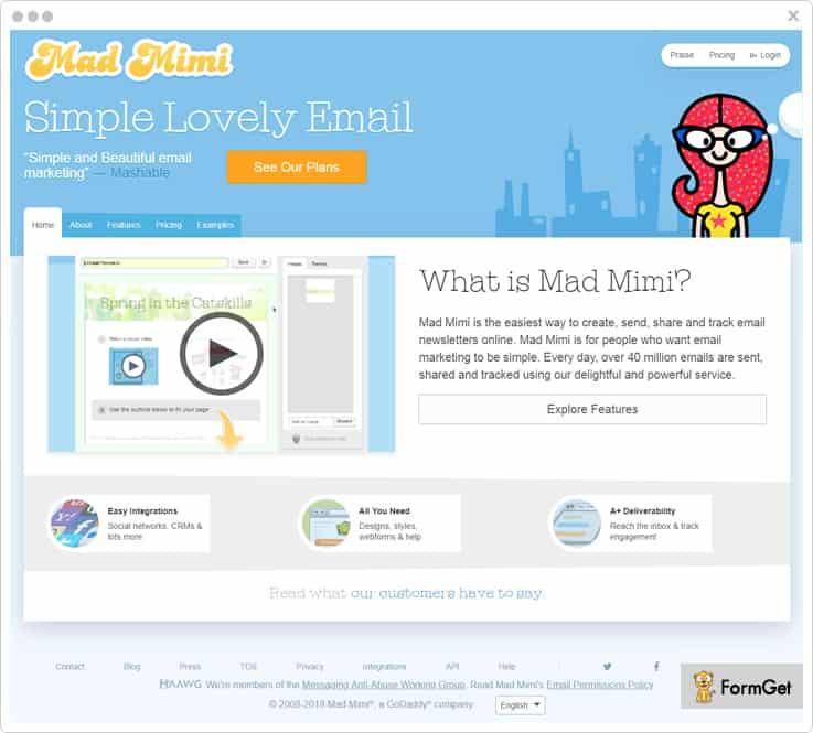 Mad Mimi - Best dotmailer Alternatives