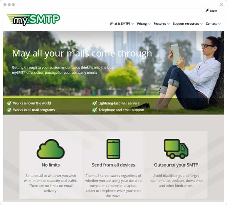 mySMTP Service