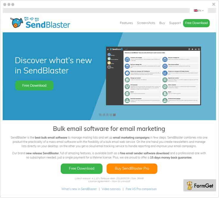 SendBlaster Campaigner Alternatives