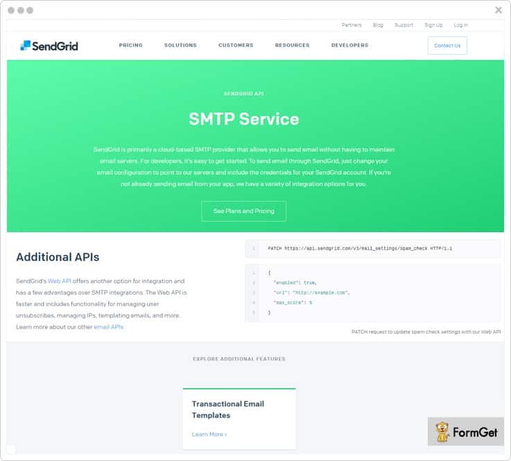 SendGrid Email Marketing Service