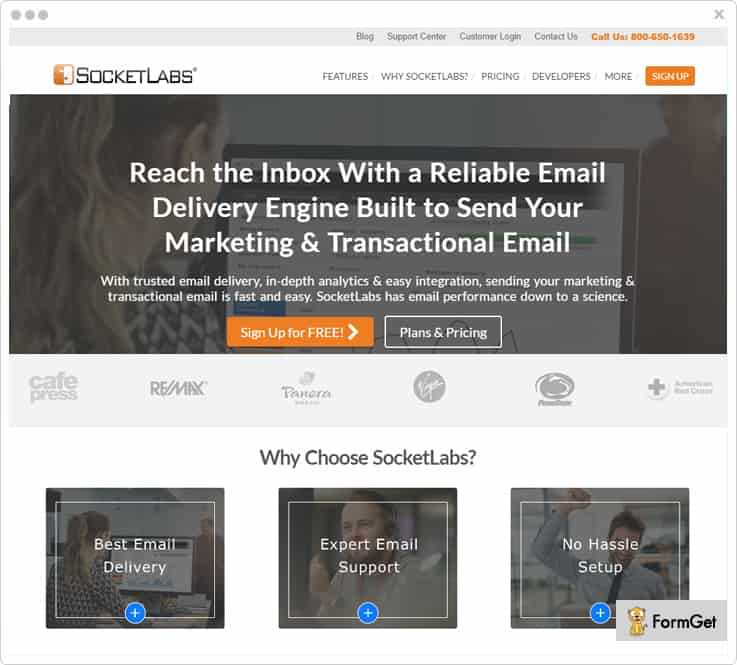 SocketLabsSMTP Service Provider