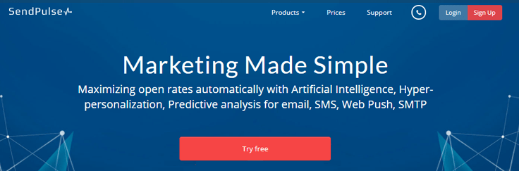 SendPulse Email Marketing Service
