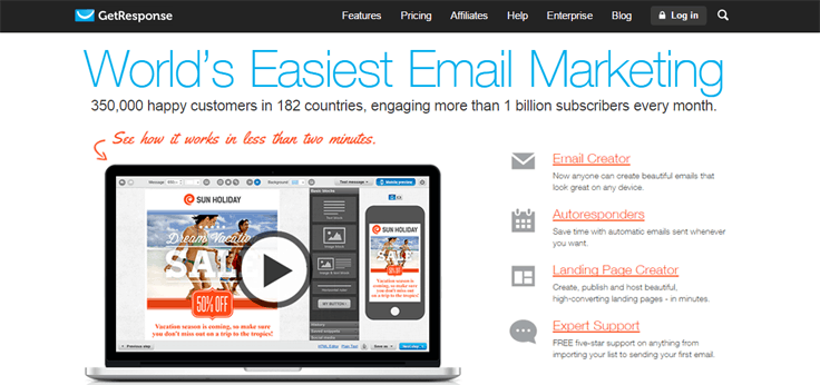 GetResponse-Autoresponder Email Marketing