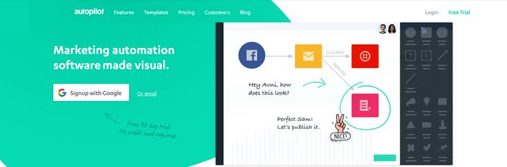 Autopilot Email Marketing Service