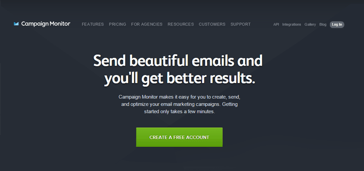 Campaign Monitor-Autoresponder Email Marketing