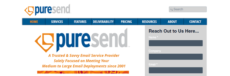 Puresend Email Marketing Service