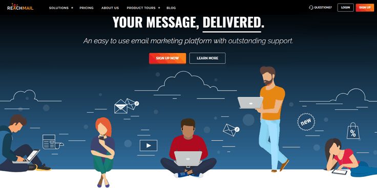 ReavhMail Best Email Marketing Tools For Small Business