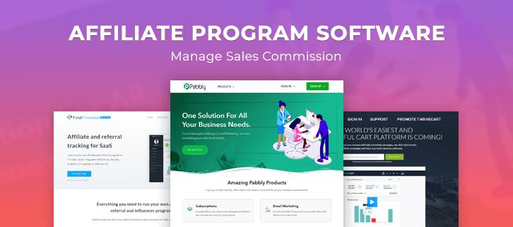 Affiliate Program Software