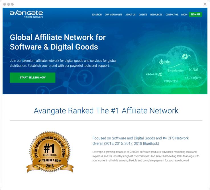 Avangate Affiliate Marketing Platform