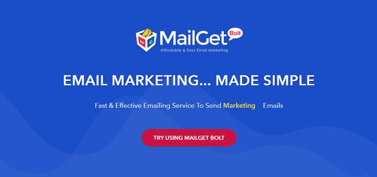 MailGet Bolt-Autoresponder Email Marketing