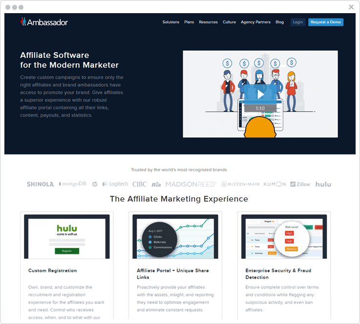 Affiliate Tracking Software Ambassador