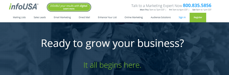 InfoUSA Email Marketing Service