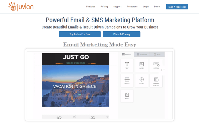 Juvlon Best Email Marketing Service Provider