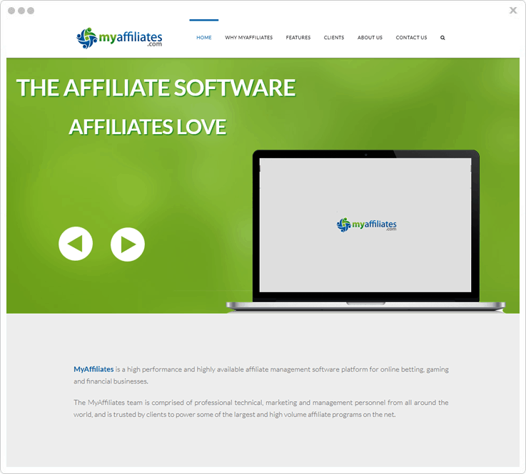Software For Affiliate Marketing MyAffiliates