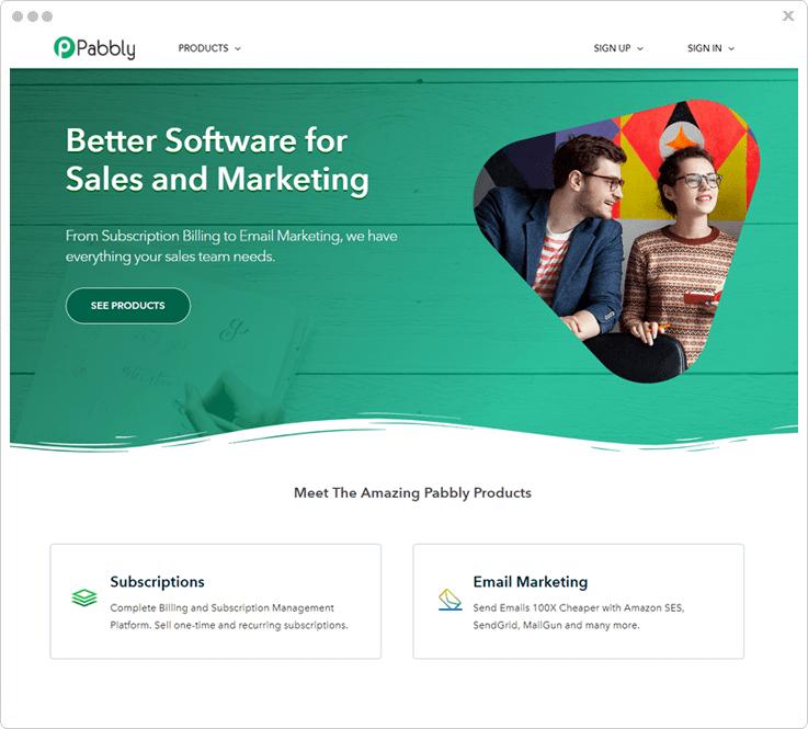 Pabbly- Affiliate Marketing Platform