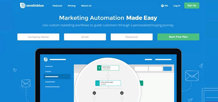 SendinBlue-Autoresponder Email Marketing