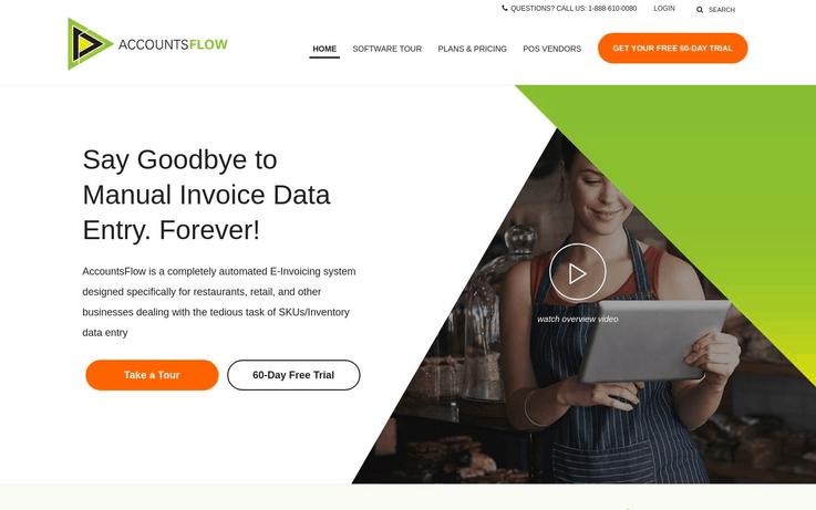 AccountsFlow - Best Data Entry Software