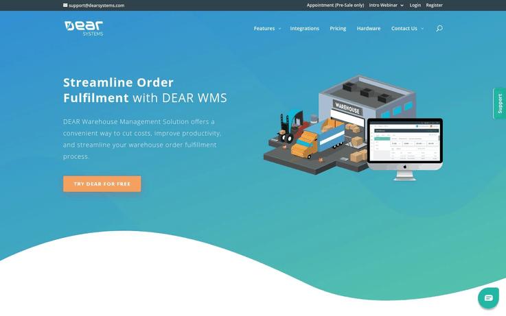 Dear Systems - Best Warehouse Management Software