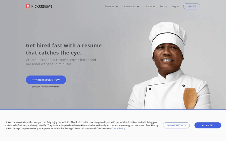 Kickresume - Best Resume Software