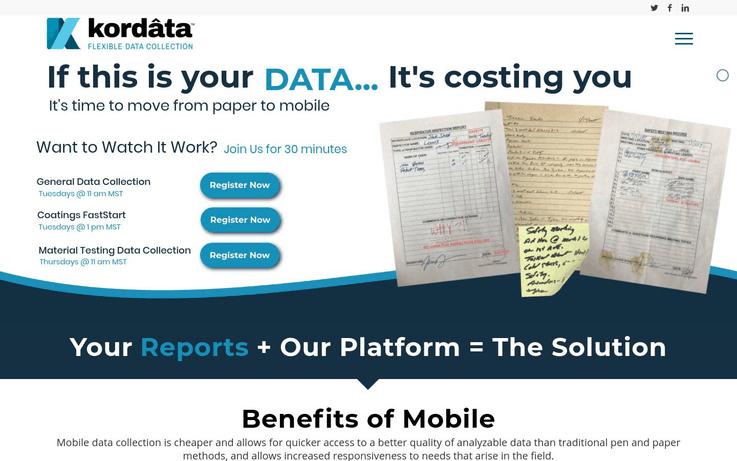 Kordata - Best Data Entry Software