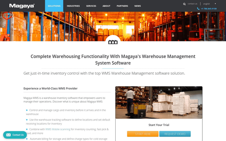 Magaya - Best Warehouse Management Software