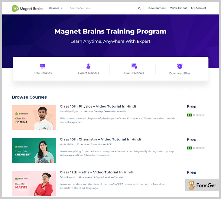 Magnet Brains - Online Learning Platforms