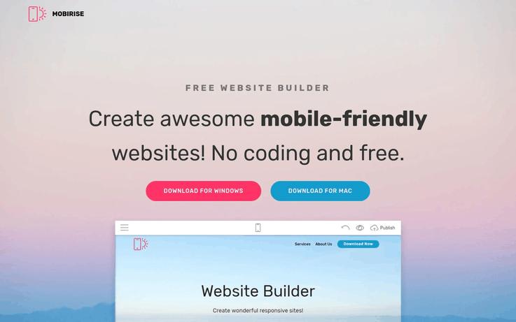 Mobirise - Website Creator