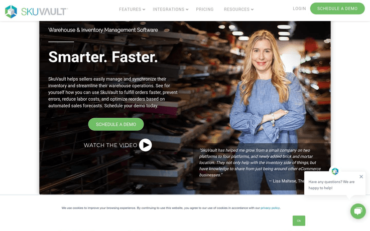 SkuVault - Best Warehouse Management Software