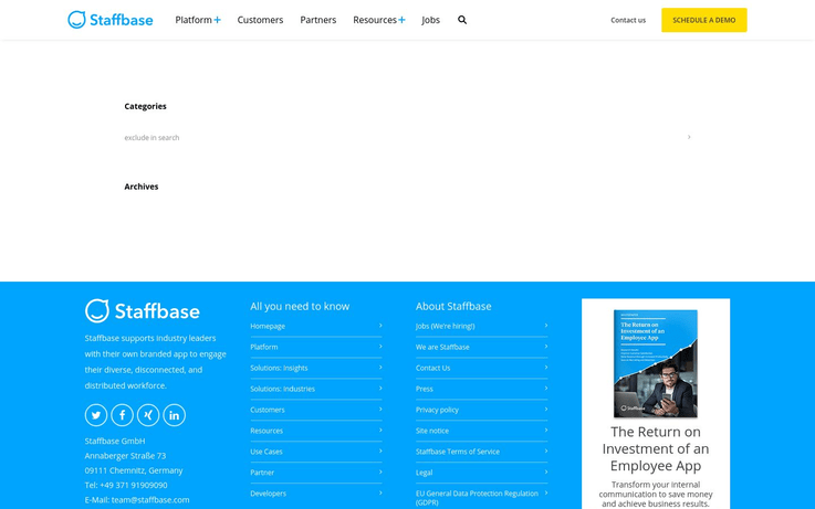 Staffbase - Intranet Software